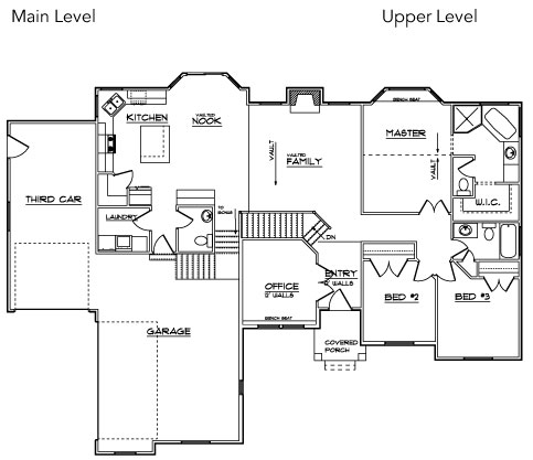 beehive plan - Custom Floor Plans