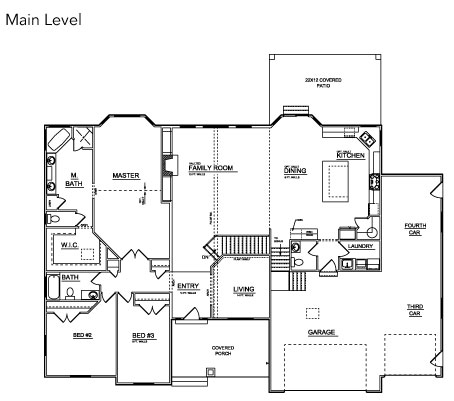 Floor plans williamson homes utah affordable custom for Rambler house plans utah