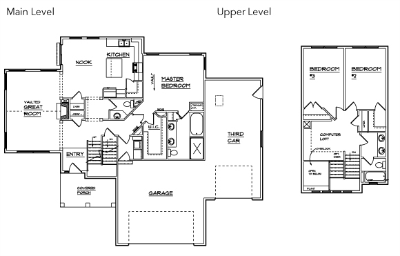 Floor Plans | Williamson Homes Utah - Affordable Custom Homes In